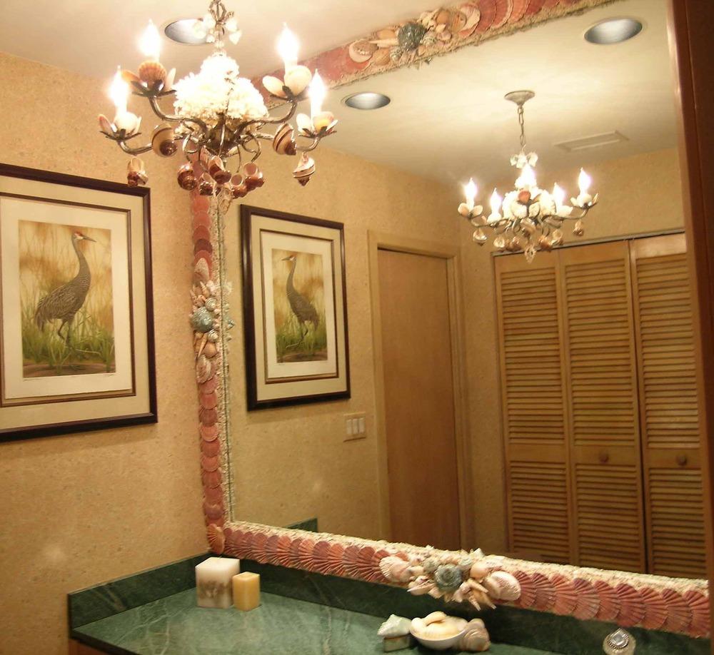 seashell inspiration custom fireplaces chandeliers
