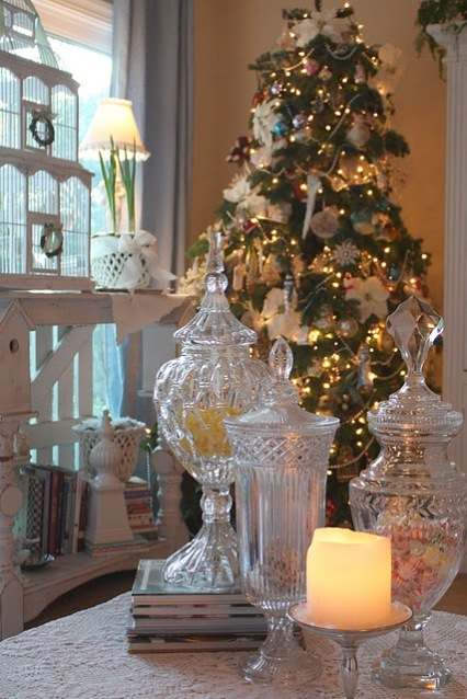 Gt Coastal Christmas Apothecary Jars Sally Lee By The Sea