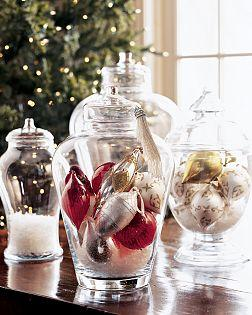 Gt Coastal Christmas Apothecary Jars Sally Lee By The Sea